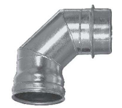 Picture of Steel Galvanized Bandlock - 90˚ Bandlock