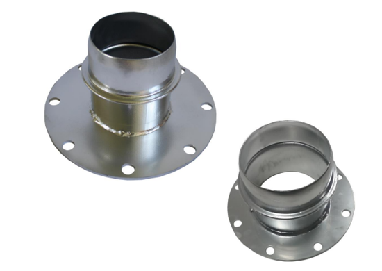 Picture of Flange To Bandlock Dust Box Reducers