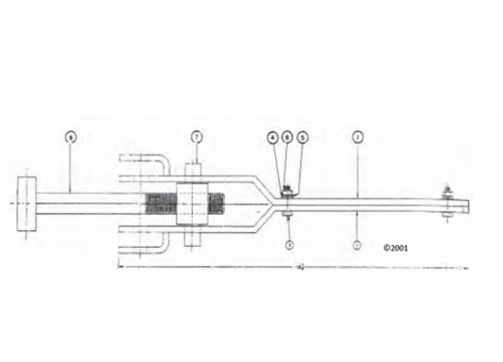 Picture of Rear Door Side Lock Assembly - Parts