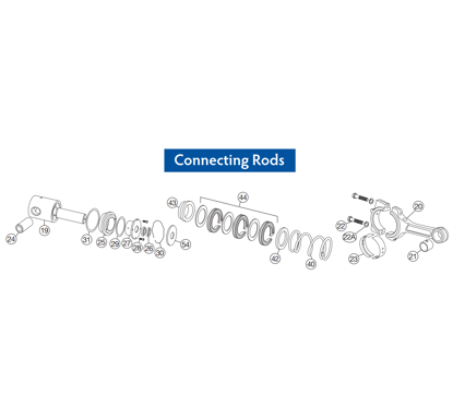 Picture of DP80-20 - Crosshead / Crosshead Link /  - Replacement Parts