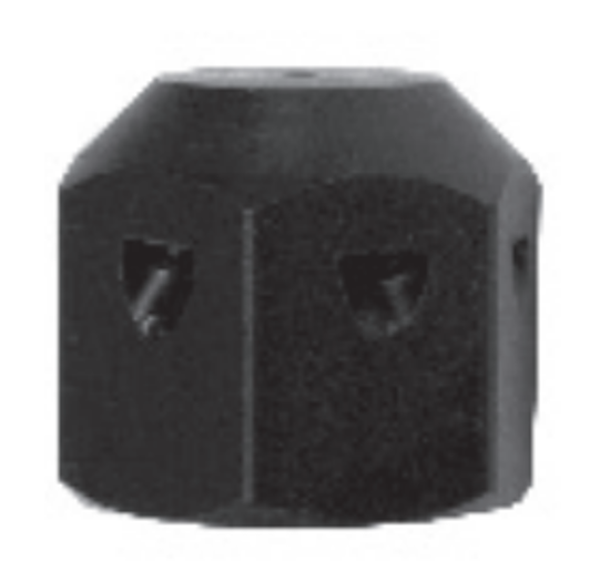 """Picture of G9 - 1/4"""" Mustang Hex Nozzles"""