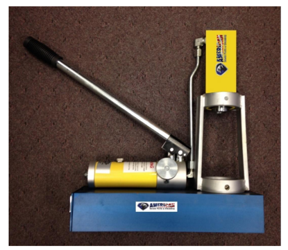 "Picture of Brutus Swage Machine – ¾"" to 1-1/4"" NPT"