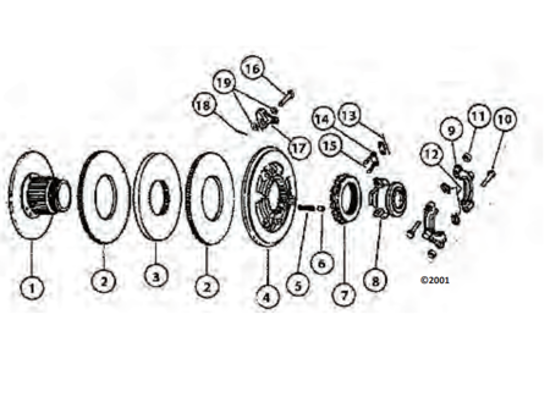 Picture of Dual Stage Transmission Collar Assembly Kit
